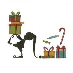 Sizzix - Tim Holtz Santa's Helpers Thinlits Dies