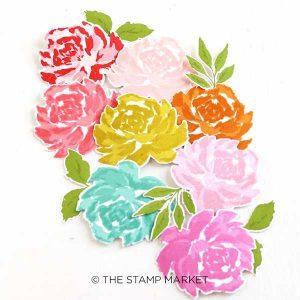 The Stamp Market Handpainted Rose Die Set class=