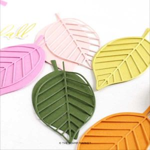 The Stamp Market Large Leaves Die Set class=