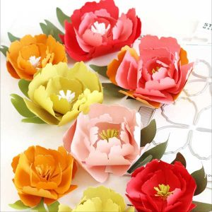The Stamp Market Small Peony Die Set class=