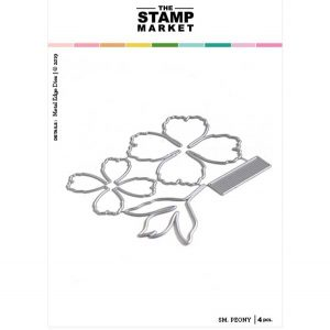 The Stamp Market Small Peony Die Set