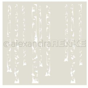 Alexandra Renke Birch Forest Stencil