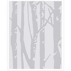 Sizzix – Tim Holtz Texture Fades Embossing Folder – Birch Trees