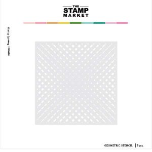 The Stamp Market Geometric Stencil