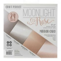 Tonic Studios Moonlight & Rose Mirror Cardstock
