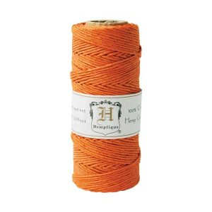 Hemptique Hemp Cord - Orange