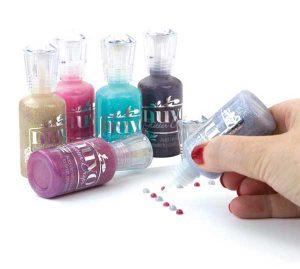 Nuvo Glitter Drops - Purple Rain class=