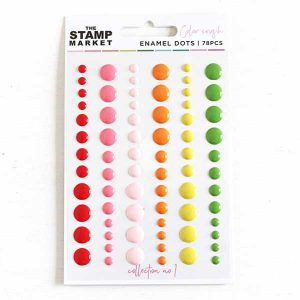 The Stamp Market Enamel Dots - Collection No. 1