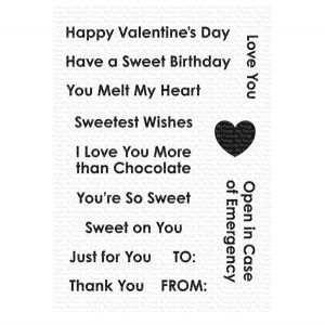 My Favorite Things Sweet Celebrations Stamp Set