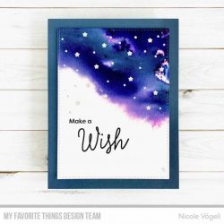 My Favorite Things Starry Night Sentiments Stamp Set