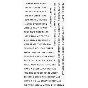 My Favorite Things Bitty Holiday Wishes