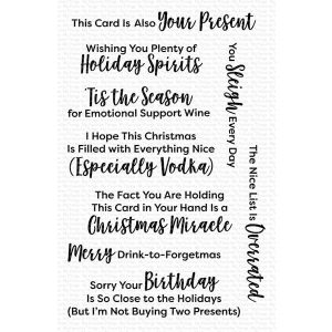 My Favorite Things Sassy Pants Holiday Too Stamp Set