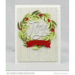 My Favorite Things Joyful Wreath Die-namics