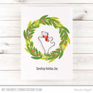 My Favorite Things Joy Wreath Stamp Set class=