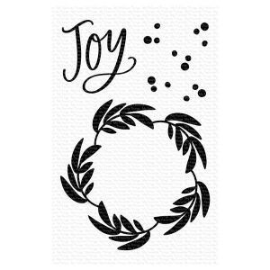 My Favorite Things Joy Wreath Stamp Set