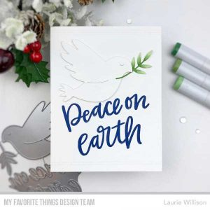 My Favorite Things Peace On Earth Stamp class=