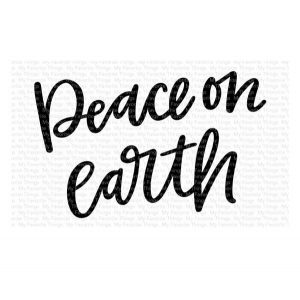 My Favorite Things Peace On Earth Stamp