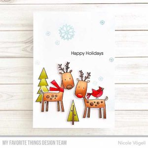My Favorite Things Reindeer Games Stamp Set class=