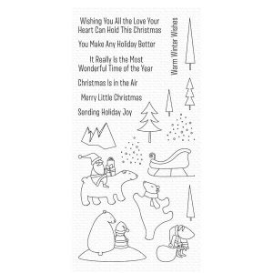 My Favorite Things Merry Moments Stamp Set