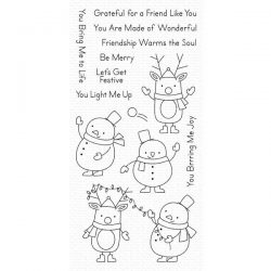 My Favorite Things Festive Friends Stamp Set