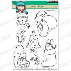 Penny Black Cozy Critters Stamp Set