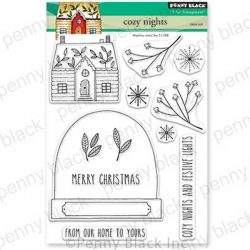 Penny Black Cozy Nights Stamp Set
