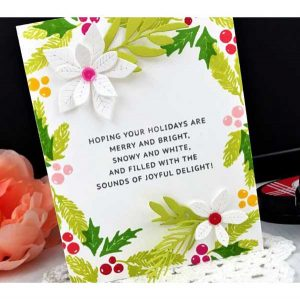 Ink To Paper Watercolor Textures: Christmas Mini Stamp Set class=