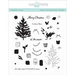 Ink To Paper Cheerful Tree Stamp Set