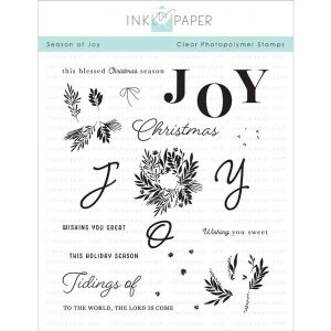 Ink To Paper Season Of Joy Stamp Set