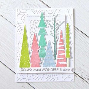 Ink To Paper Peaceful Forest Stamp Set class=