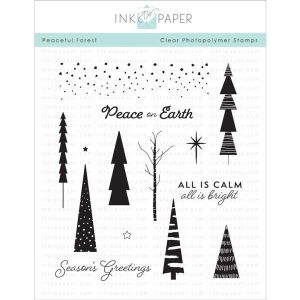 Ink To Paper Peaceful Forest Stamp Set