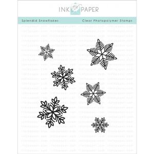 Ink To Paper Splendid Snowflakes Stamp Set