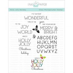 Ink to Paper Holly Jolly Holiday Stamp Set