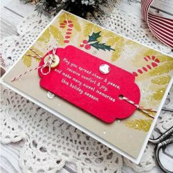 Ink To Paper Inside Greetings: Holiday Magic Mini Stamp Set