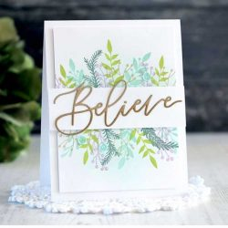 Ink To Paper Floral Christmas Stamp Set