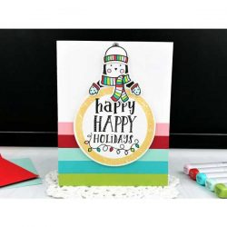 Ink To Paper Critter Carolers Stamp Set