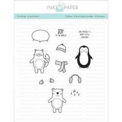 Ink To Paper Critter Carolers Stamp Set