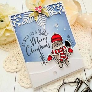 Ink To Paper Happy Happy Holidays Stamp Set class=