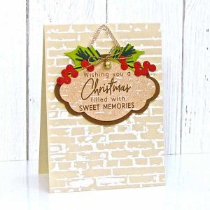 Ink To Paper It's A Sign: Holiday Sentiments Stamp Set class=