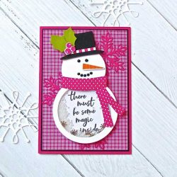 Ink To Paper Go-To Gift Card Holder: Snowman Accessories