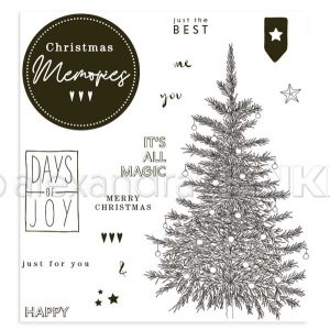 Alexandra Renke Christmas Memories Stamp Set