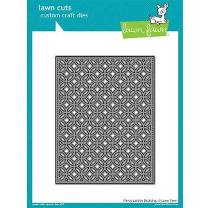 Lawn Fawn Fancy Lattice Backdrop Lawn Cuts