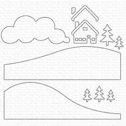 My Favorite Things Snowy Scene Builder Die-namics