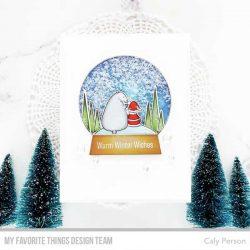 My Favorite Things Classic Snow Globe Die-namics