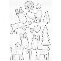My Favorite Things Reindeer Games Die-namics