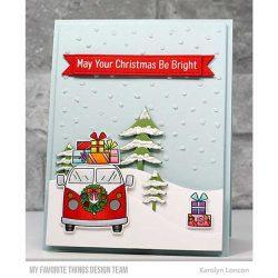 My Favorite Things Sun-Lovin' Santa Die-namics