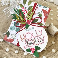 Ink To Paper Holly Jolly Holiday Dies