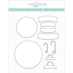 Ink To Paper Go-To Gift Card Holder: Snow Globe Die