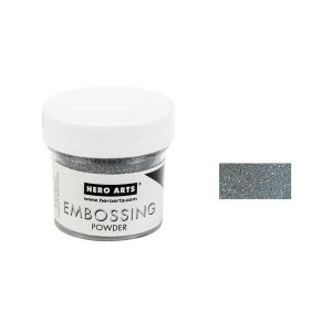 Hero Arts Silver Sparkle Embossing Powder class=