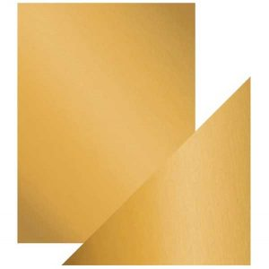 Tonic Studios Craft Perfect Mirror Card - Satin Honey Gold